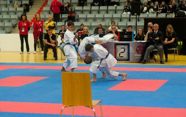Kata Team bei der DM mit Moritz Heine